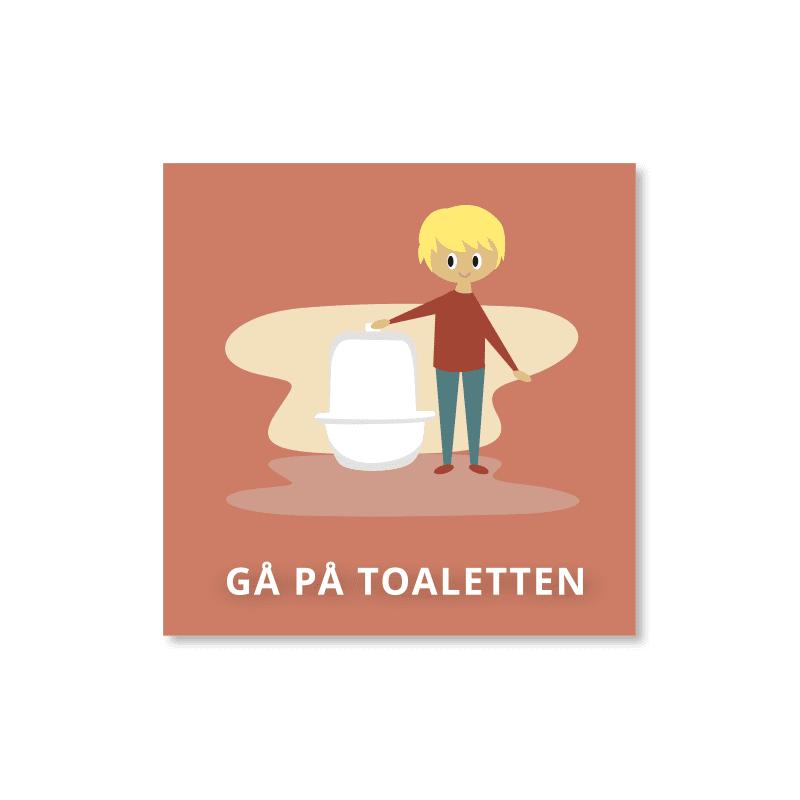 Gå på toaletten